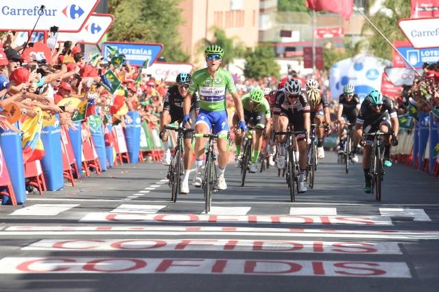 Vuelta: Trentinov trojček tokrat v sprintu
