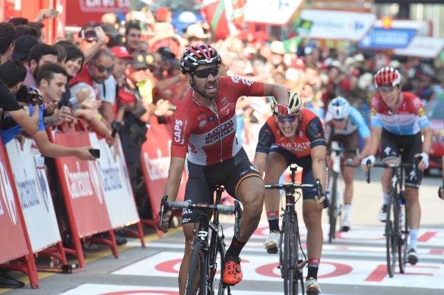 Napadalni Contador, Mohorič spet bežal in