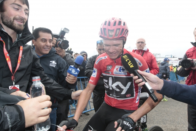 Chris Froome za BBC: Ne gre za pozitiven test