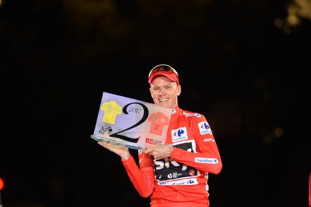 Chris Froome še po naslov svetovnega prvaka?
