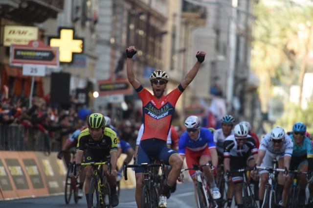 Izjemni Vincenzo Nibali ugnal sprinterje!