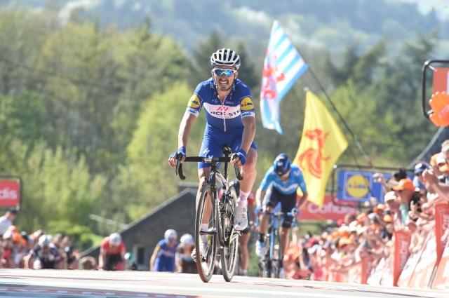 Valverde poražen ... Najboljši Alaphilippe
