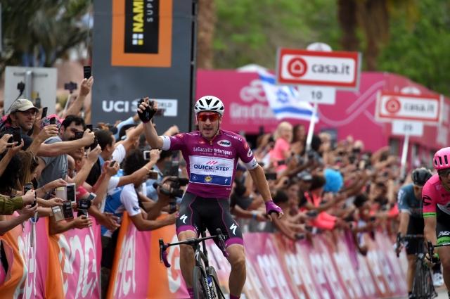 Giro: Elia Viviani še drugič pred odhodom