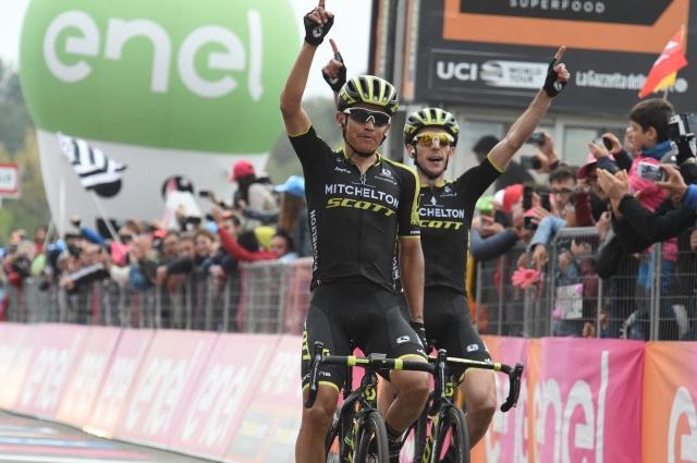 Giro: Polanc in Novak bežala, blestela Chaves in Yates