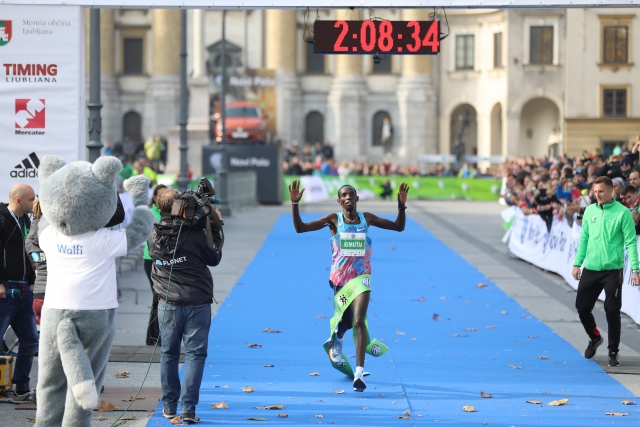 Kdo je Marius Kimutai, zmagovalec Ljubljanskega maratona?