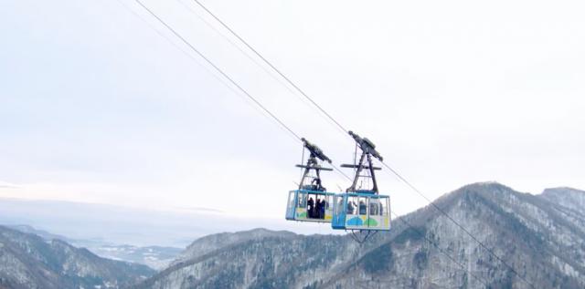 Dunking Devils spet presenečajo: Na Veliki planini postavili najbolj noro gugalnico na svetu
