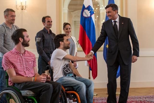 Predsednik Republike Slovenije Borut Pahor častni pokrovitelj teka Wings for Life World Run Slovenija