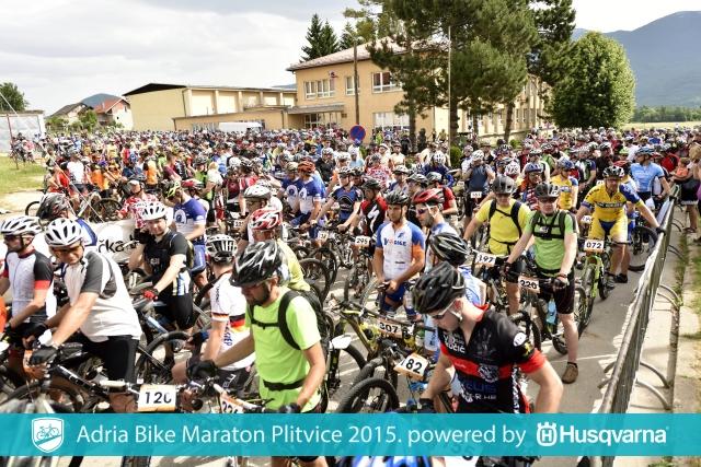 Rekordno število gorskih kolesarjev na ADRIA BIKE maratonu Plitvice