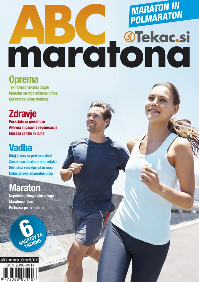 Realizirajte maratonske sanje - revija Tekac.si plus