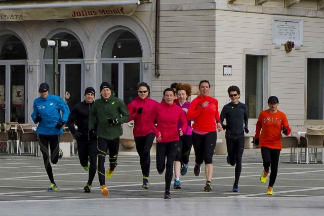 Asics Frontrunner srečanje v Piranu