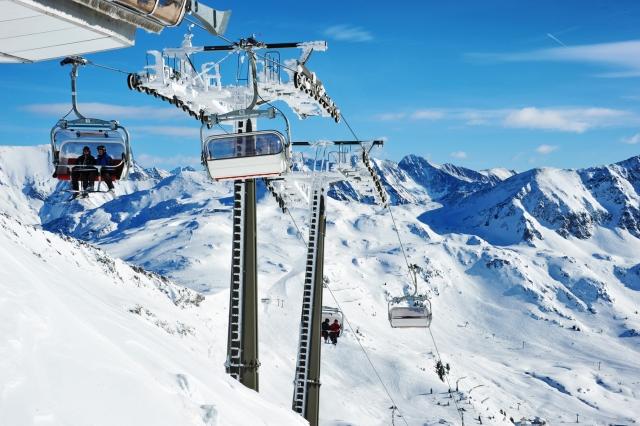 Obertauern je zimsko-športni kraj z največ snega v Avstriji