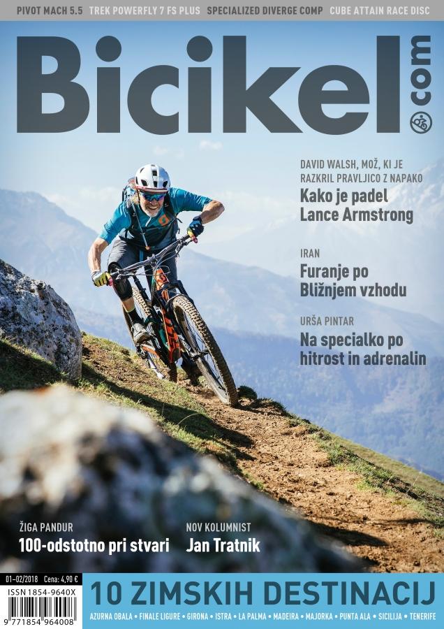 Nov začetek - Revija Bicikel 1-2/2018