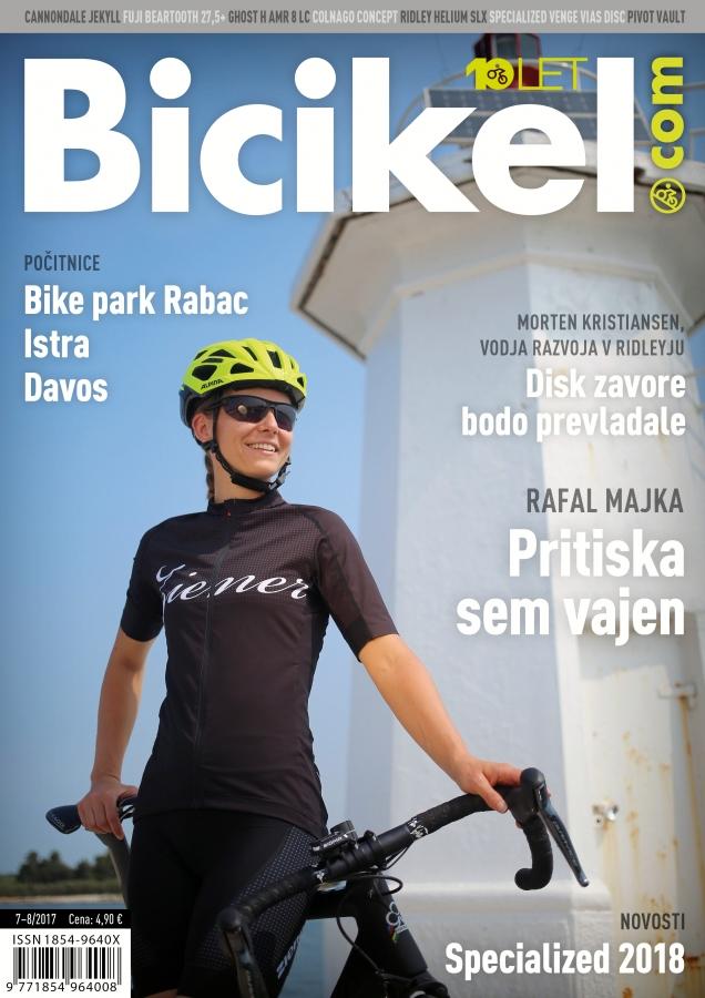 Kolesarji so najpomembnejši -  Revija BICIKEL ( 07-08 )