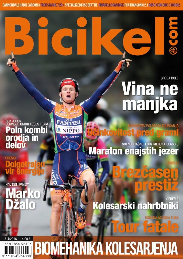 Nastavitev kolesa, obvezen del opreme - Revija BICIKEL ( 03-04 )