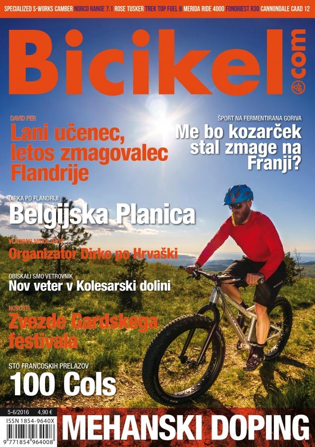 Dirka po Sloveniji je potencial za kolesarski turizem - Revija BICIKEL ( 05-06 )
