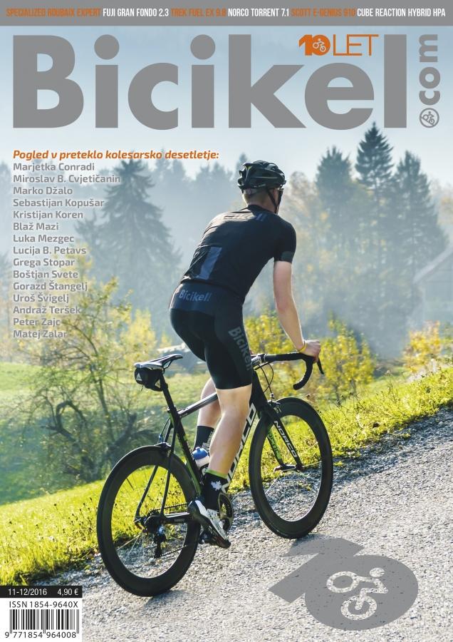 Desetletje bicikliranja - Revija BICIKEL ( 11-12 )