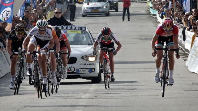 Trofeo Binda Armisteadovi, Eugenia Bujak na 16. mestu