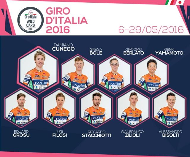 Tudi Grega Bole na italijanski Giro