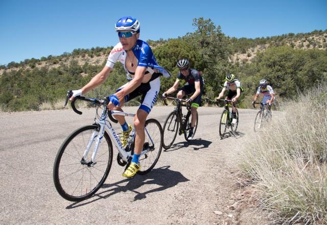 Tour of Gila: Brajkovič na polovici dirke v deseterici