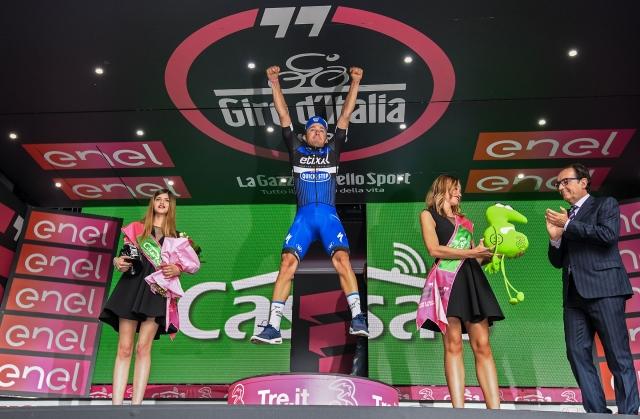 Brambilla presenetil, med favoriti najbolj napadalen Valverde