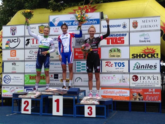 Odlična Anna Plichta dirko Tour du Feminin končala na 2. mestu za ekipo BTC City Ljubljana!