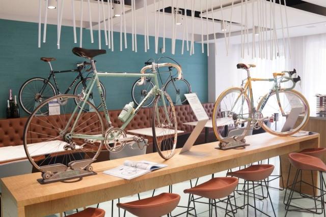 Bianchi Cafe & Cycles - košček kolesarskega raja v Milanu