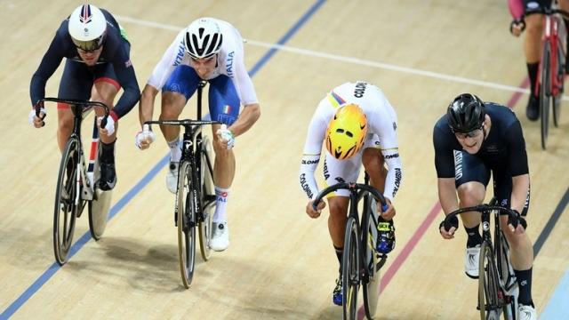Mark Cavendish v zbirko dodal še olimpijsko medaljo, zlat Elia Viviani