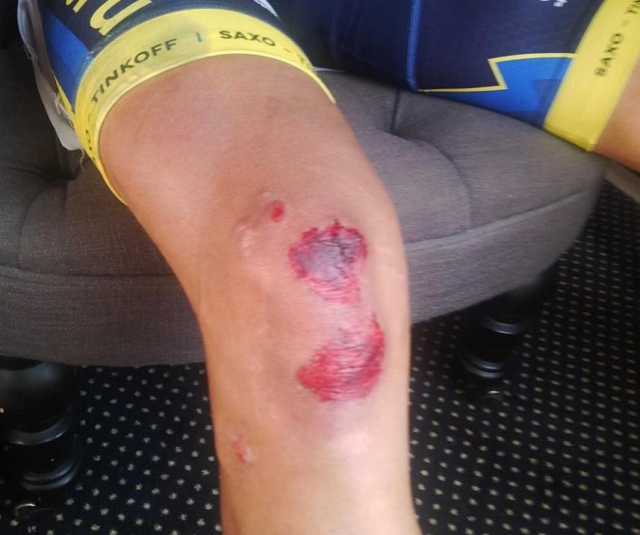 Po padcu: Froome: Contador tvegal preveč, Contador: To je kolesarstvo!
