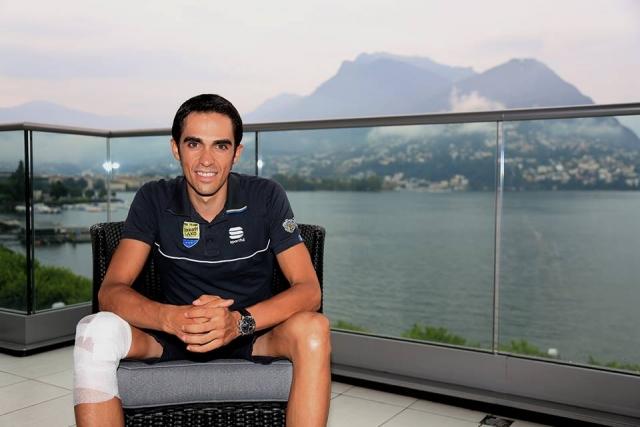 Alberto Contador: Nastopil bom na Vuelti