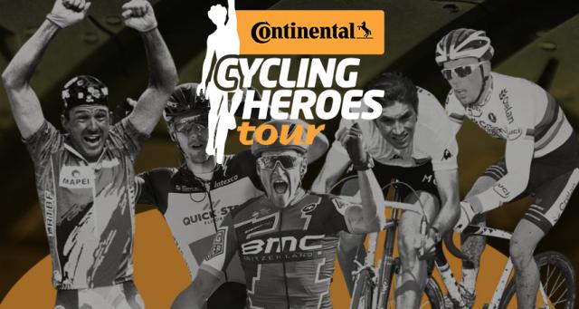 Continental Cycling Heroes z novo legendo