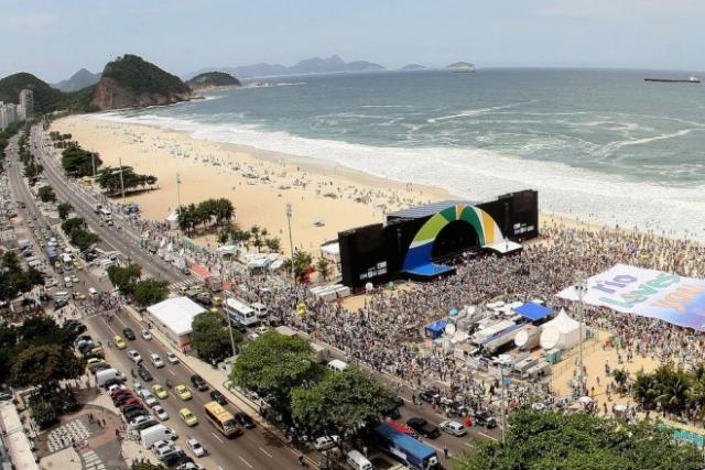 Olimpijska proga v Riu se bo končala na Copacabani