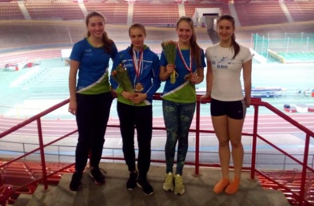 Lepo število naših mladih atletov teklo na Dunaju