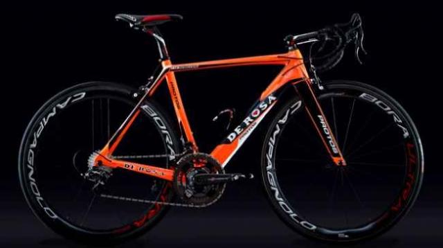 S takim kolesom bo dirkal Grega Bole