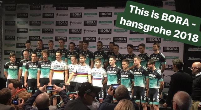 Bel, zelen in črn dres Bore Hansgrohe