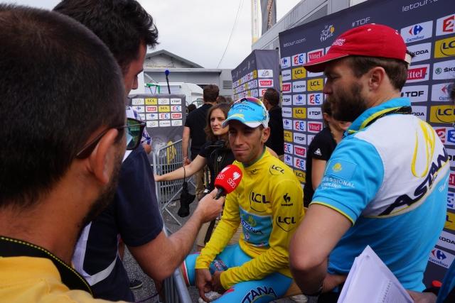 Vincenzo Nibali: Najprej proslavitev, potem sprejem v Kazahstanu in SP