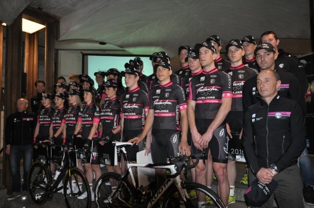 Radenska z devetimi kolesarji in na Kuotah