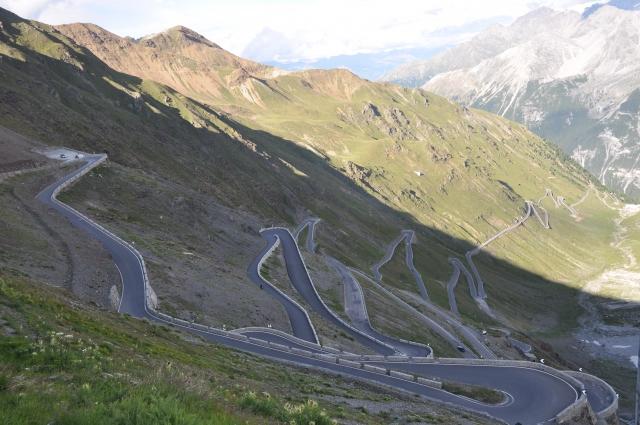Italijansko-avstrijski ponos, prelaz Stelvio