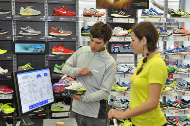 Pri izbiri tekaške obutve naj bo glavno vodilo udobje