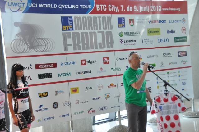 Maraton Franja BTC City bo letos potekal od 7. do 9. junija