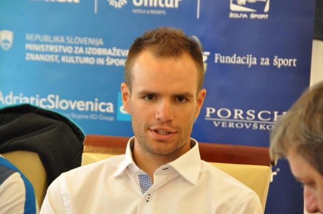 Luka Mezgec: Pridobil kilograme in moč za sprint