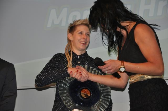 Monika Hrastnik najboljša kolesarka!