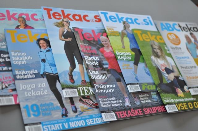 Anketa revije Tekac.si: Tecimo skupaj
