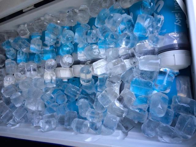 Marko Džalo razkriva: 250 plastenk, 60 kg ledu, 200 litrov vode ... in sladoled