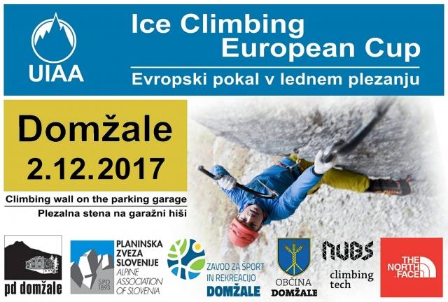 Prvo decembrsko soboto si rezervirajte za ledeno plezanje!