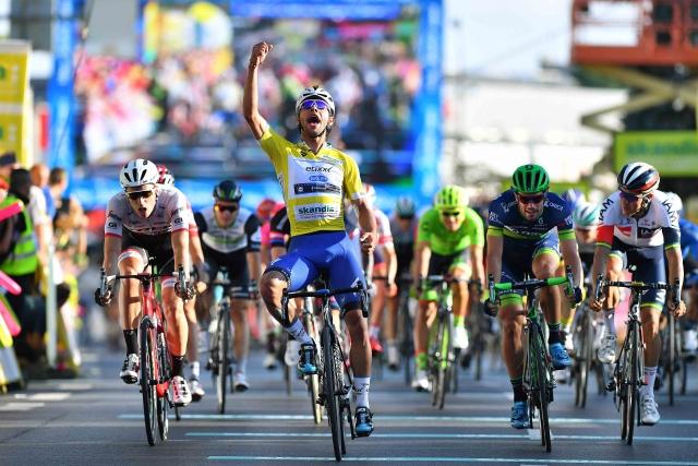 Luka Mezgec v sprintu 2.!