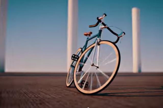 Zakaj kolo ostane pokonci? (VIDEO)