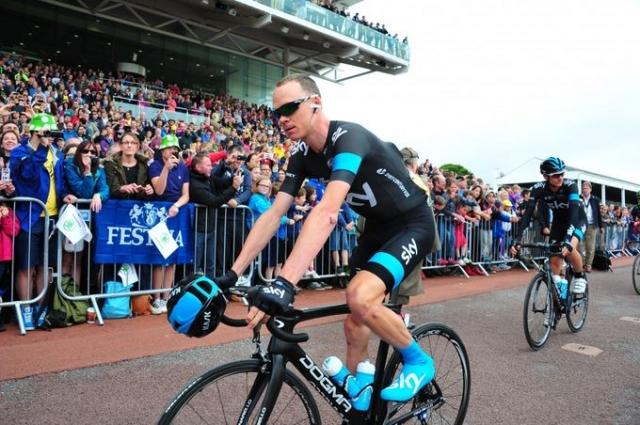 Chris Froome: Nisem tako dober kot na Touru, a vseeno komaj čakam, da se Vuelta začne