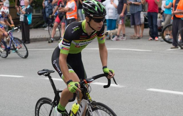 Gašper Katrašnik pred gorskimi etapami 4. v Franciji
