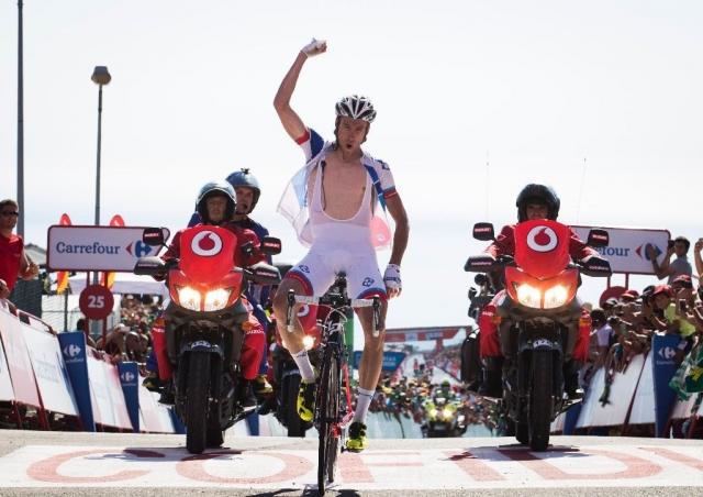 Na brutalnem Ezaru najboljši Alexandre Geniez, Contador spet zaostal