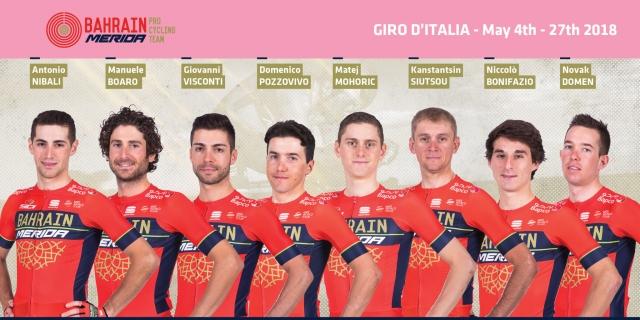 Giro: Osmerici razkrili tudi pri dveh favoritih, potrjeni trije Slovenci